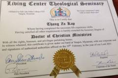 Doctor of Christian Ministries